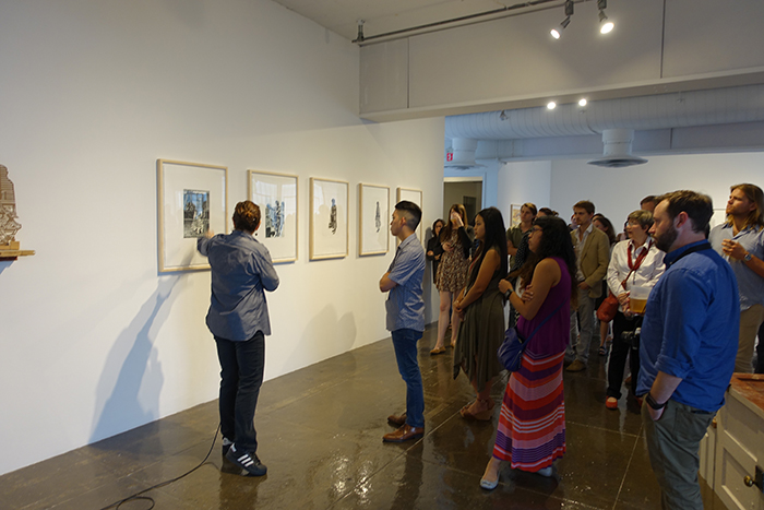 Up and Out Opening, 2016, Hudson (Show) Room, Artpace, San Antonio, Texas