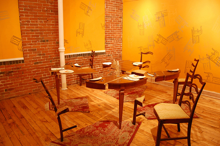 I Don't Know the Details, installation view, Essex Art Center, Lawrence MA