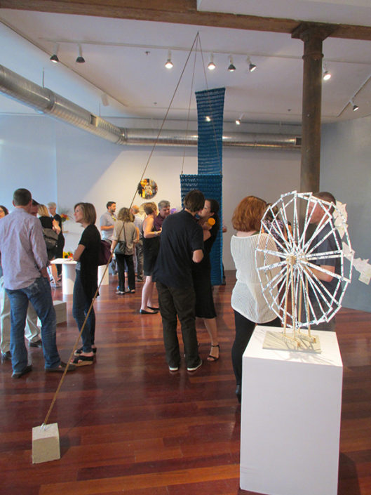 12 Nights, 2014, installation view, Boston Sculptors Gallery
