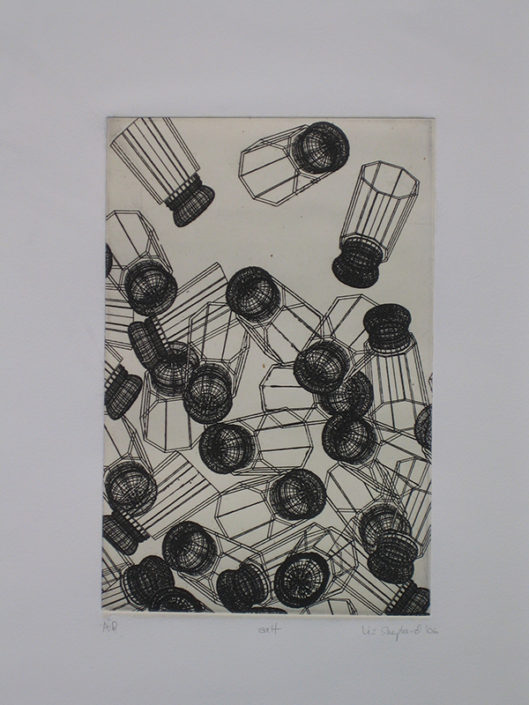 Salt, 2006, etching
