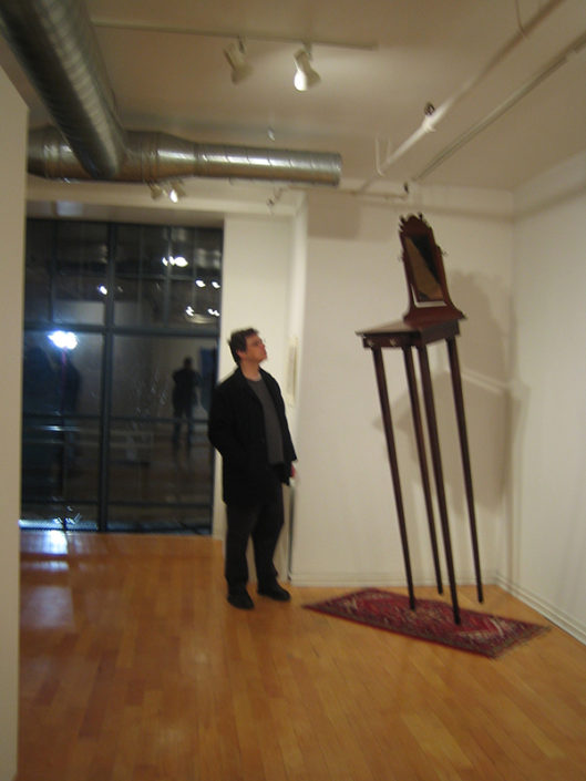 Untitled (tall) 2006, installation view, Locco Ritoro Gallery, Boston, MA