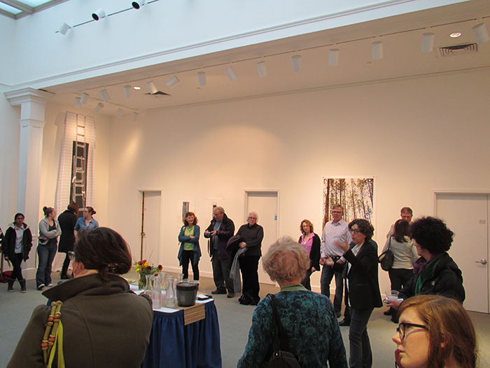 Up and Out, 2013, Opening at Trustman Art Gallery, Simmons College, Boston, MA