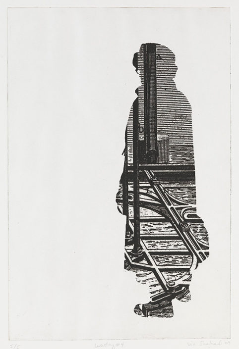 Immigrant 4, 2009, etching